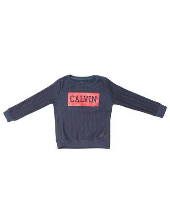 Casaco-Infantil-Calvin-Klein-Jeans-Moletom-Listra-E-Logo-Marinho