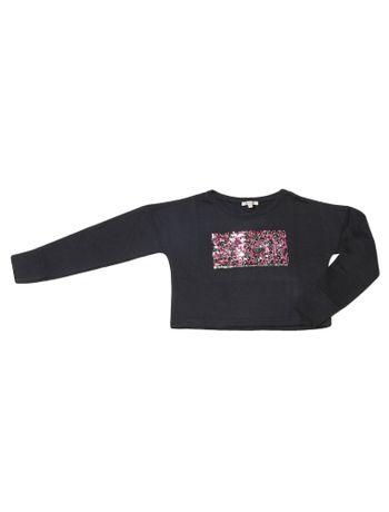 Moletom-Infantil-Calvin-Klein-Jeans-Paete-Reverso-Preto