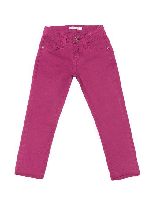 Calça Color Infantil Calvin Klein Jeans Super Skinny Ameixa