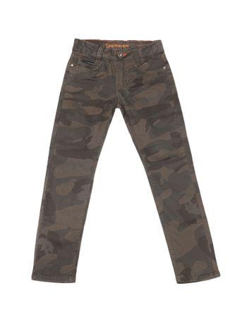 Calca-Color-Infantil-Calvin-Klein-Jeans-Super-Skinny-Camuflado-Militar