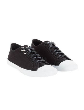 Tenis-Calvin-Klein-Jeans-Lona-Ck-Re-Issue-Preto