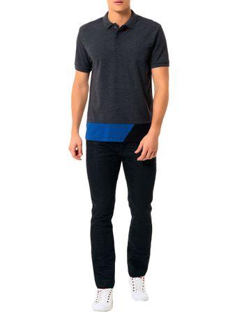 bbb48f2647 Polo Calvin Klein Jeans Recortes Barra Mescla - Calvin Klein
