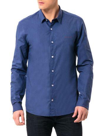 Camisa-Calvin-Klein-Jeans-Listras-Marinho