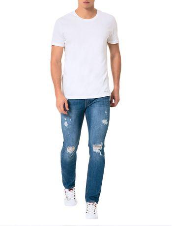 Calca-Calvin-Klein-Jeans-Skinny-5-Pockets-Azul-Medio