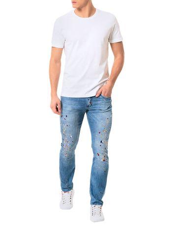 Calca-Calvin-Klein-Jeans-Skinny-5-Pckts-Com-Respingos-Azul-Medio