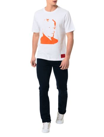 T-Shirt-Calvin-Klein-Jeans-Andy-Warhol-Branco-E-Vermelho-