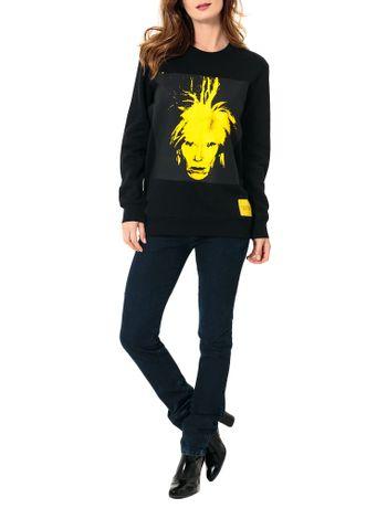 Casaco-Calvin-Klein-Jeans-Andy-Warhol-Preto-