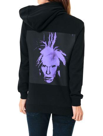 Casaco-Calvin-Klein-Jeans-Com-Capuz-Andy-Warhol-Preto-