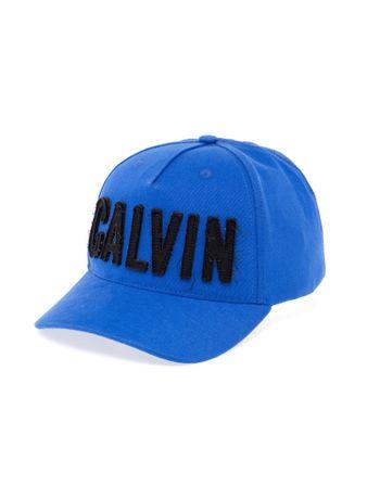 Bone-Calvin-Klein-Jeans-Calvin-Bold-Patch-Azul-Carbono-