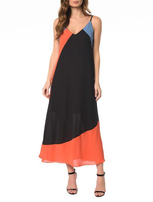 Vestido Midi Recortes
