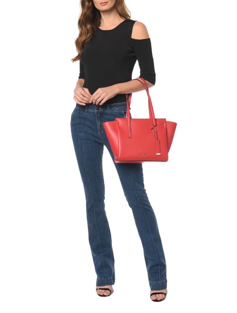 794ae2629c Bolsa Tote Frame Medium Shopper - Calvin Klein