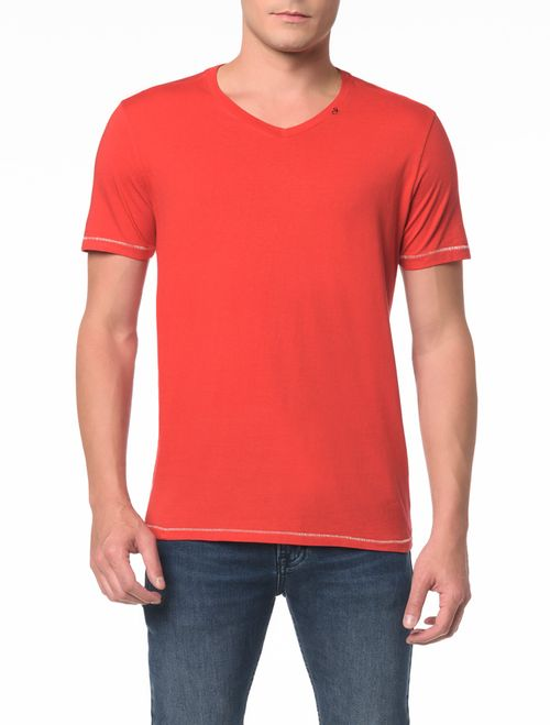 Camiseta Slim Estampa Square