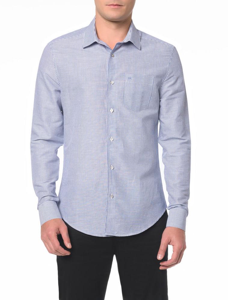 771ece3a9 Camisa Slim Monte Carlo C Bolso - Calvin Klein