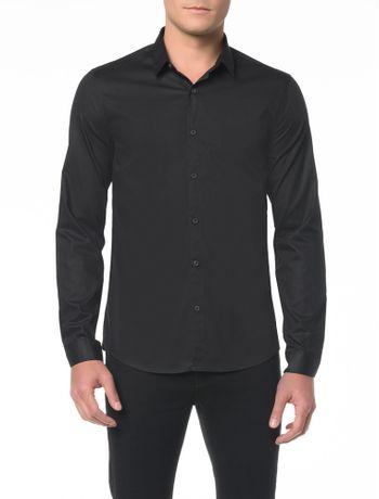 Camisa-ML-CKJ-Masc-Basica-Etiqueta
