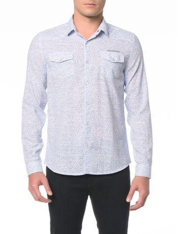 Camisa-ML-CKJ-Estampa-Flower-Mini