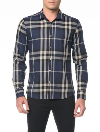 Camisa-ML-CKJ-Masc-Slim-Xadrez-Over-