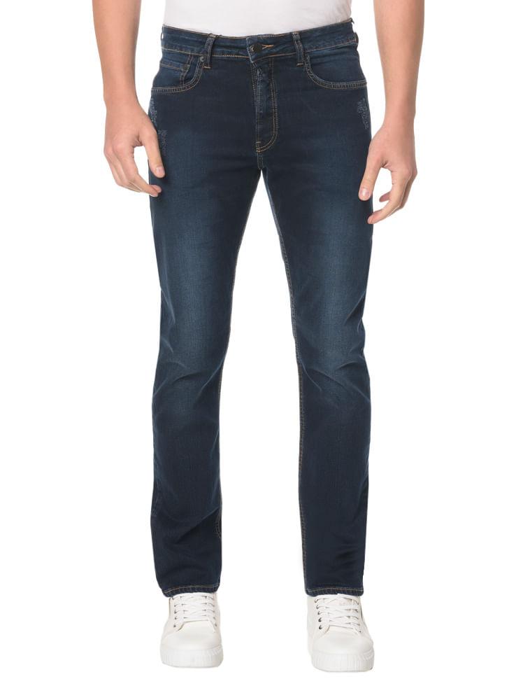 8d0038a65 Calça Jeans Five Pocktes Straight CKJ 035 Straight - Marinho ...