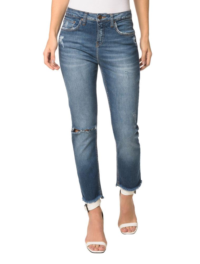 Calvin Klein · Feminino · Roupas · Jeans · Calca-Jeans -Five-Pockets-High-Rise-Slim f34b085b06