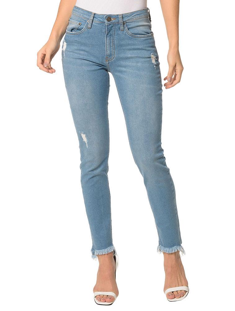 4f904c378 Calvin Klein · Outlet · Roupas · Jeans · Calca-Jeans-Five-Pockets-Mid-Rise- Slim