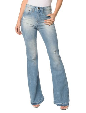 d330374d8c Calca-Jeans-Five-Pockets-High-Rise-Flare-