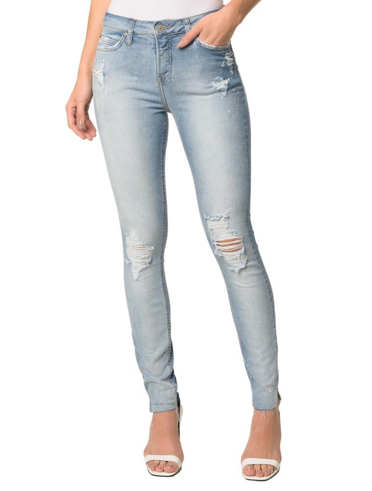 ac7fda533 Calça Jeans Five Pocktessts Super Skinny CKJ 001 Super Skinny - Azul ...