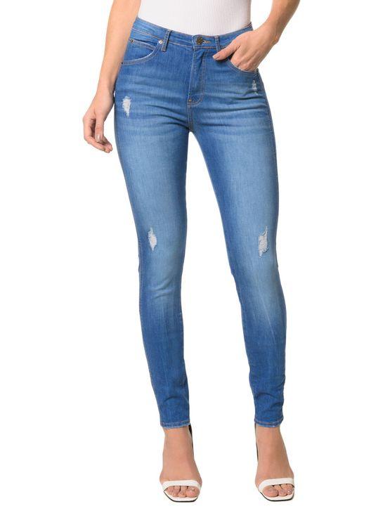 13e0f71b1 Calça Jeans Sculpted CKJ 002 Sculpted Skinny - Azul Médio - Calvin Klein