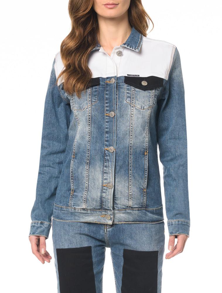 Jaqueta Jeans Trucker - Calvin Klein d37c156e08