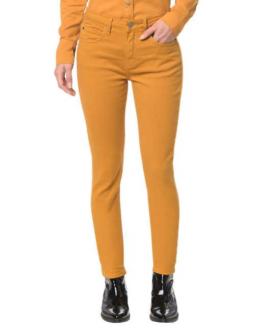 Calça Color Five Pock. High Rise Skinny