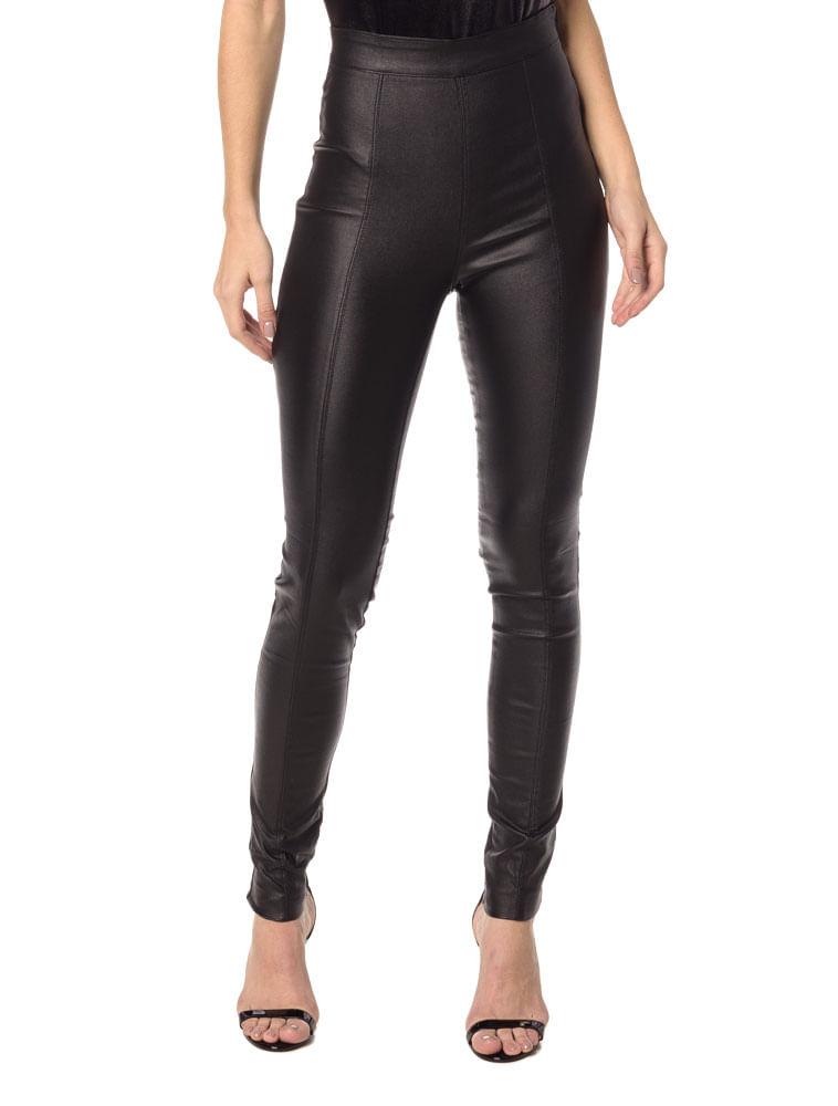 Calça CKJ Fem Metalizada - Calvin Klein cf78b8bbed