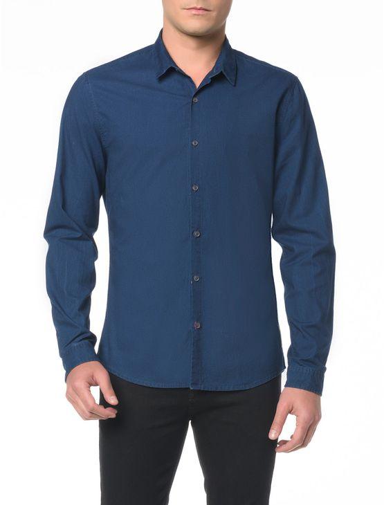 Camisa-ML-CKJ-Masc-Indigo