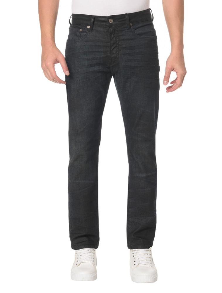 0dc7e1d71be9f Calça Jeans Five Pockets Slim Straight - Calvin Klein