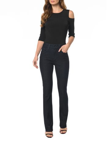 Calca-Jeans-Five-Pockets-Straight-High
