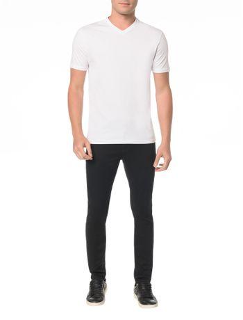 Camiseta-Slim-Gola-V-Com-Estampa-Fita