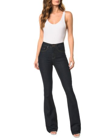 Calca-Jeans-Five-Pockets-Mid-Rise-Flare