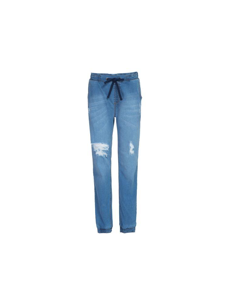 98b63d2e8 Calça Jeans Skinny Elas Amarração - Calvin Klein