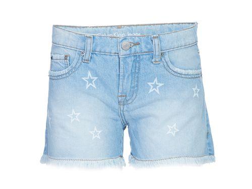 Shorts Jeans Five Pockets Estrelas