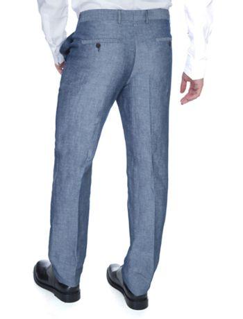 16fa38d0ef5ae Calça Slim Classico Linho - Calvin Klein