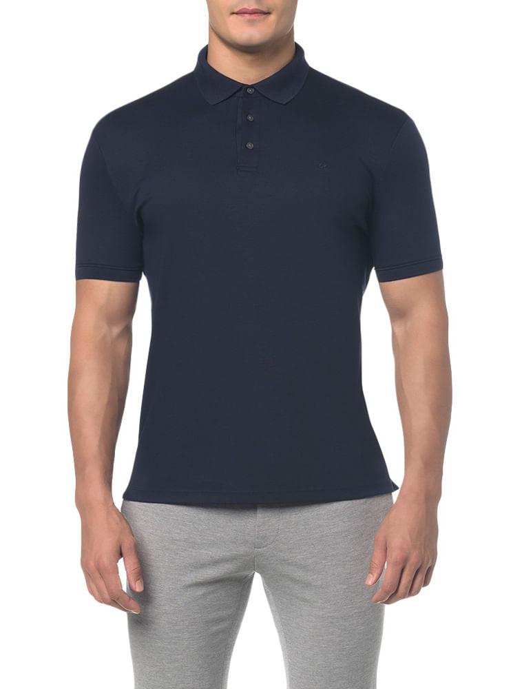 e78a9485ac Calvin Klein · Masculino · Roupas · Polos · Polo-Liquid-Cotton-Basica ---Marinho---PP
