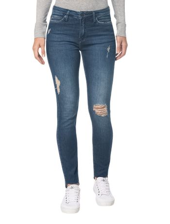 Calca-Jeans-Five-Pockets-Super-Skinny---Marinho---36