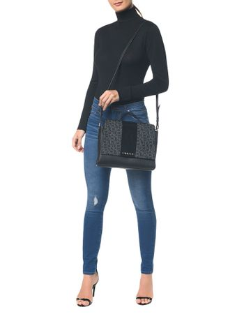 Bolsa-Satchel-Monograma-Color-Block---Preto---U