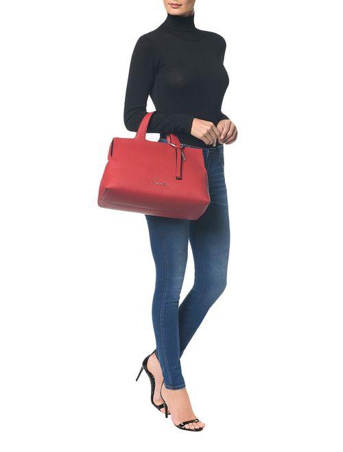 Bolsa Grande Calvin Klein Neat Vermelho
