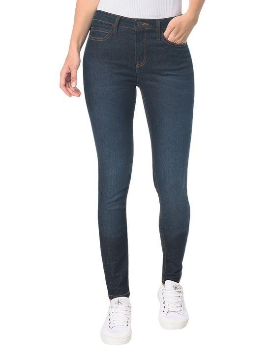 Calca-Jeans-Five-Pock-High-Rise-Skinny---Blue-Black---34