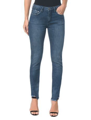 Calca-Jeans-Five-Pockets-Mid-Rise-Slim---Marinho---34