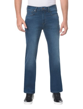 Calca-Jeans-Five-Pock-Relaxed-Straight---Azul-Medio---38