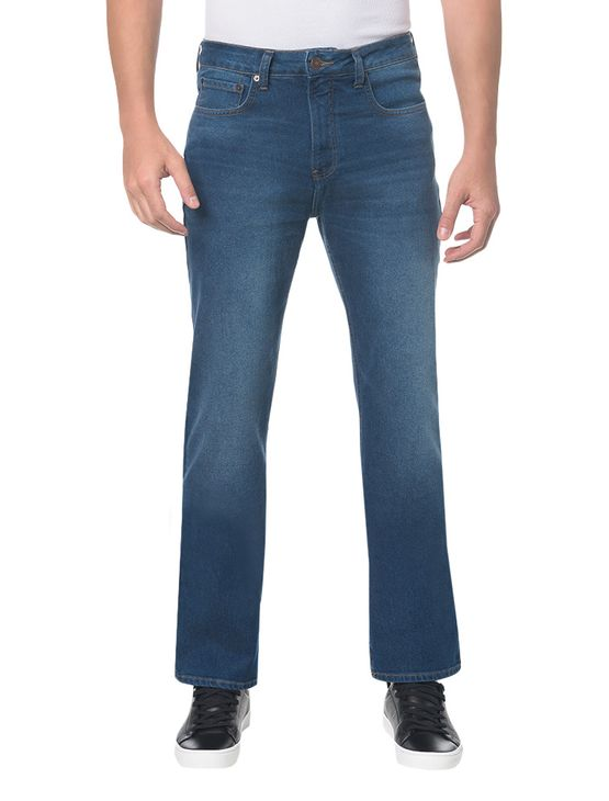 Calca-Jeans-Five-Pock-Relaxed-Straight---Azul-Medio---40