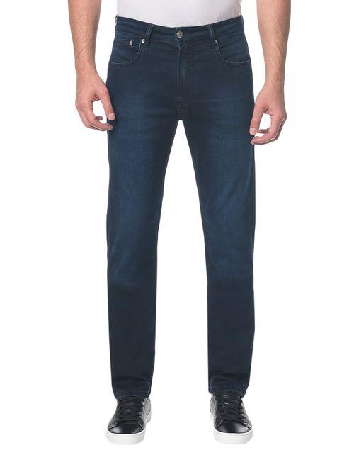 Calça Jeans Five Pocktes Straight Ckj 035 Straight - Marinho