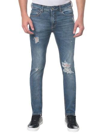 Calca-Jeans-Five-Pockets-Slim---Azul-Claro---38