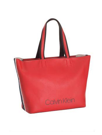 Mochila-Calvin-Klein-Logo-Em-Relevo---Vermelho---U
