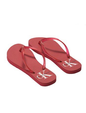 Slide-Ckj-Fem-Silk-Re-Issue---Vermelho---37-38
