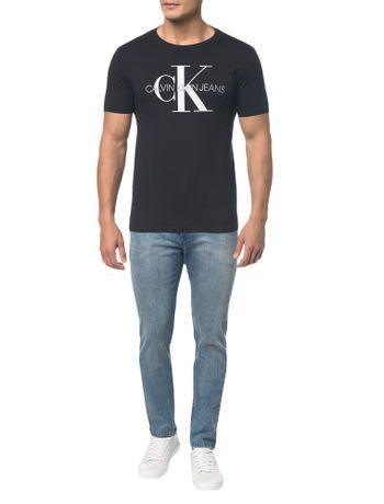Camiseta-Ckj-Mc-Est-Ck---Preto---PP